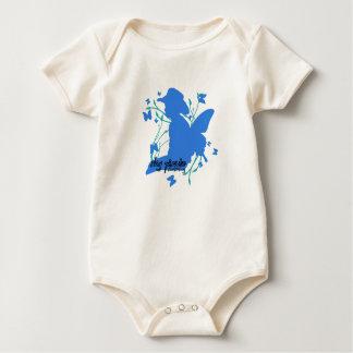 Blue Cowboy Up Baby Bodysuit