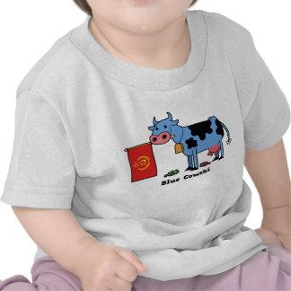 Blue Cowski Tee Shirt