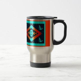Blue Coyote Travel Mug