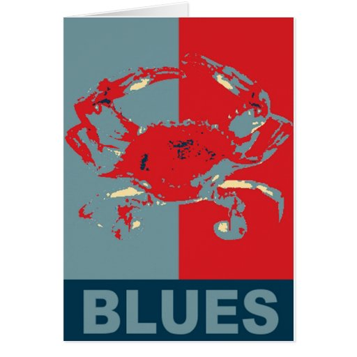 Blue Crab Iconized Cards