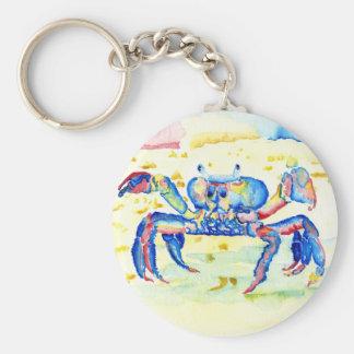 Blue Crab Key Ring