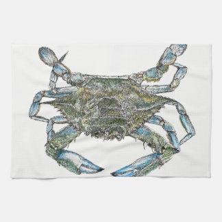 Blue Crab Kitchen Towels