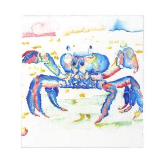 Blue Crab Notepad