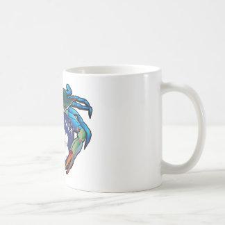 Blue Crab Virginia Dogwood Blossom Crest Coffee Mug