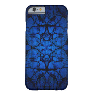 Blue cracked wall pattern barely there iPhone 6 case