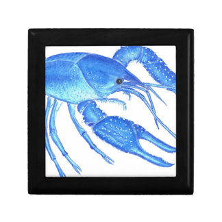 Blue Crawfish Gift Box