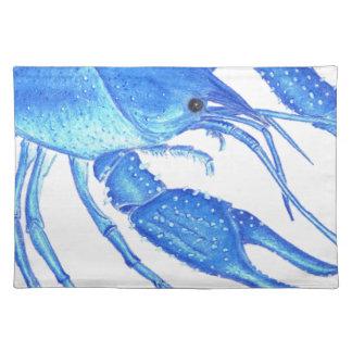 Blue Crawfish Placemat