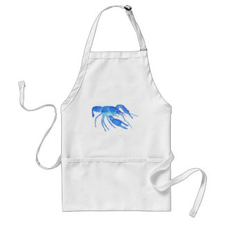 Blue Crawfish Standard Apron