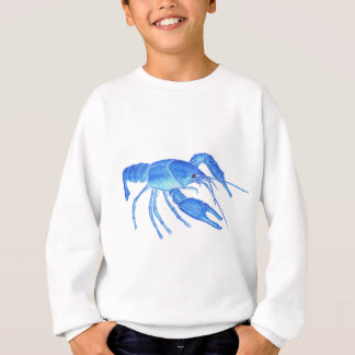 Blue Crawfish Sweatshirt