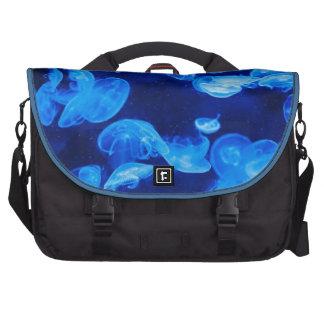Blue Creature Fish Laptop Bag