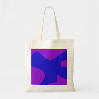 Blue Creature Minimalism Canvas Bags