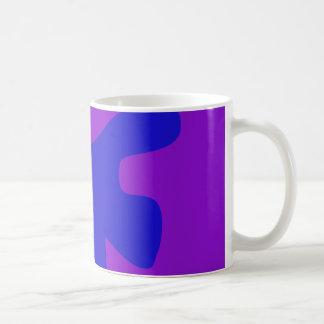 Blue Creature Minimalism Coffee Mug