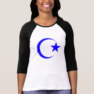 Blue Crescent & Star.png T-Shirt