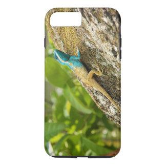 Blue-Crested Lizard Calotes Mystaceus iPhone 7 Plus Case