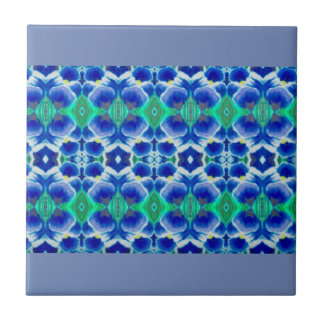 Blue Crocus Banner Tile