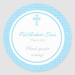 Blue Cross Address Label/Favour Sticker