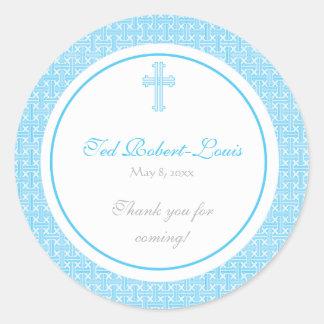 Blue Cross Address Label/Favour Sticker