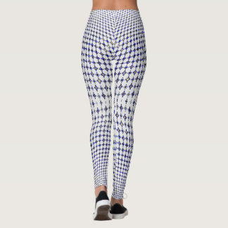 Blue Cross Leggings