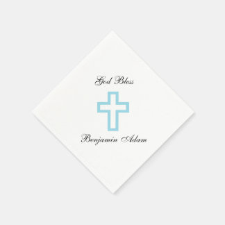 """Blue Cross"" Napkins Disposable Serviette"