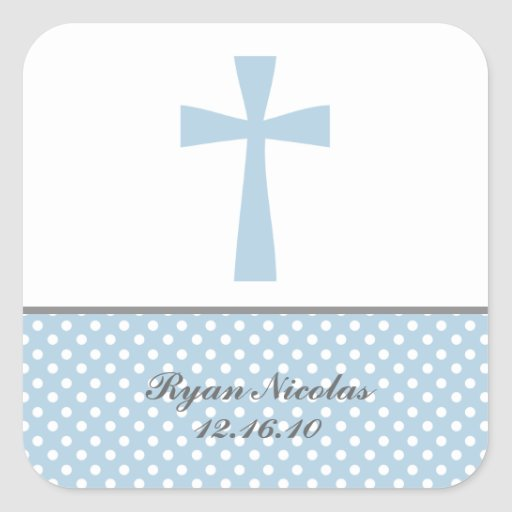 Blue Cross Stickers