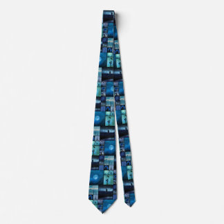 Blue Crows Mirage Tie