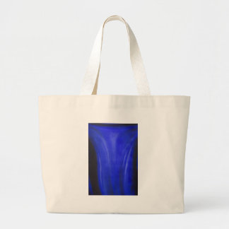 Blue Crucifixion (religious symbolism painting) Jumbo Tote Bag