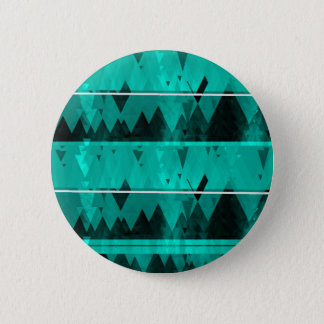 Blue Crystal Ice Mountain Pattern 6 Cm Round Badge