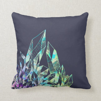 Blue Crystal Pillow