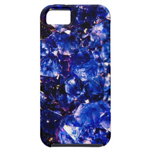 Blue Crystal Stone iPhone 5 Case