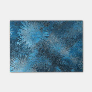 Blue Crystallized Ice Post-it® Notes