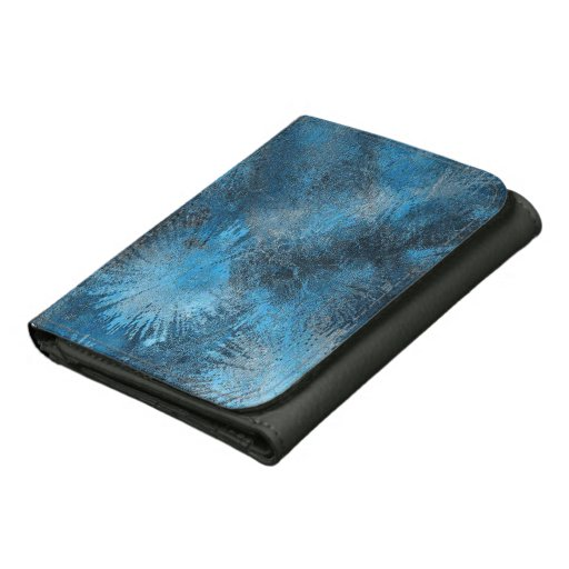 Blue Crystallized Ice Wallet