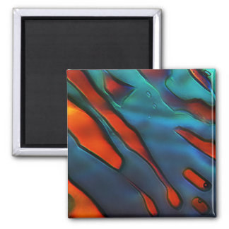 Blue Crystals, Copper Sulfate Refrigerator Magnet