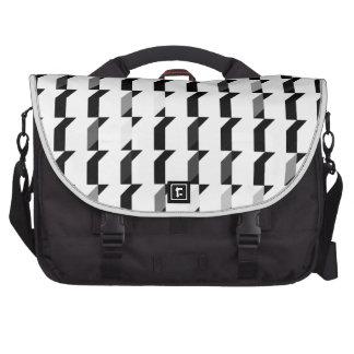 Blue Cubes Pattern Commuter Bag