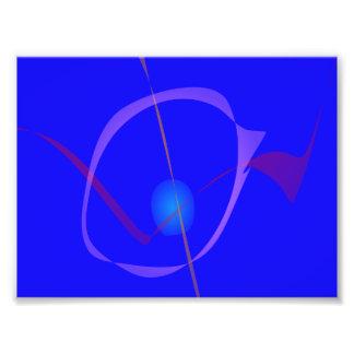 Blue Cygnus Abstract Art Photo Art