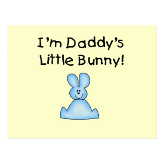 Blue Daddy s Little Bunny T-shirts and Gifts Post Card