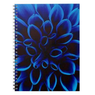 Blue Dahlia Notebook