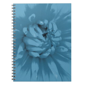 Blue Dahlia Notebook
