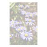 Blue Daisies Lined or Unlined Stationery