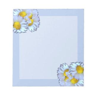 Blue Daisies Notepads