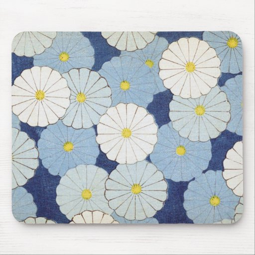 Blue Daisy Design Mousepads