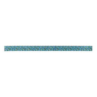 BLUE DAISY-DESIGNER RIBBON SATIN RIBBON