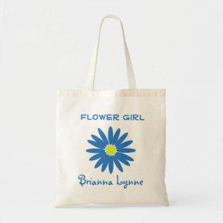 Blue Daisy Tote Bag
