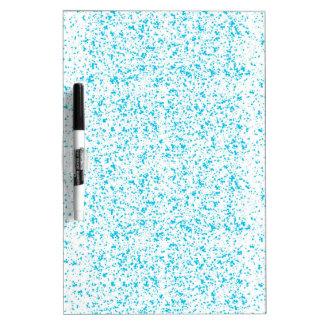 Blue Dalmatian Print Dry Erase Board