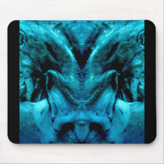 blue dämon mouse pad