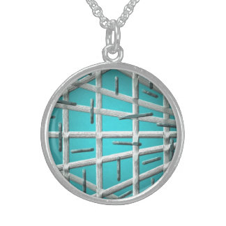 Blue Dance Sterling Silver Necklace