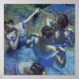 Blue Dancers, c.1899 Poster