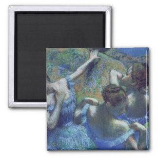 Blue Dancers, c.1899 Square Magnet