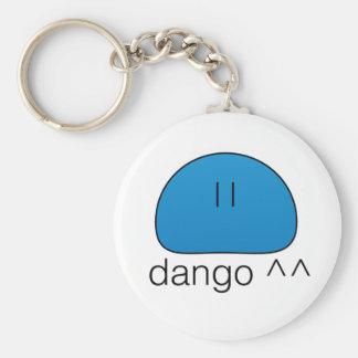 Blue Dango Keychain