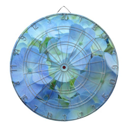 Blue Dart Boards for Her room Hydrangea Flowers