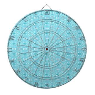 blue dartboard